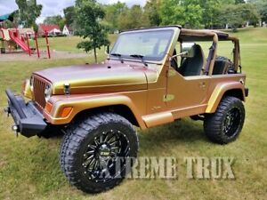 Painted 97 06 Jeep Wrangler Tj Lj Oe Style Fender Flares Factory Color Match