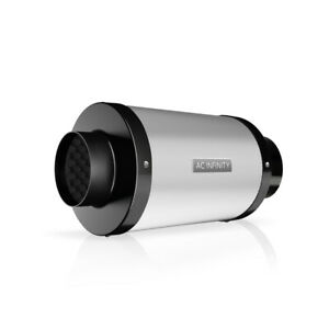 Duct Fan Silencer 4 Noise Reduction Muffler For Hydroponics Grow Tent Systems