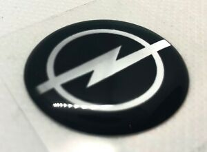 2 Pcs Opel Logo Badge Sticker 55mm Domed 3d Stickers Decals