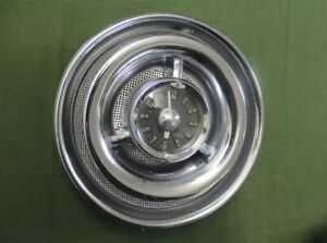 1954 Pontiac Clock And Speaker Assembly With Power Pack Nice Condition
