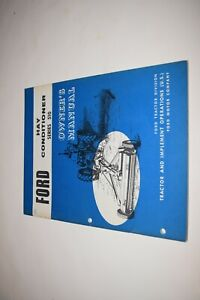 Ford Series 150 Hay Conditioner Owner s Manual