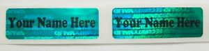 Svg Green Custom Tamper Evident Hologram 5 X 1 5 Product Protection Stickers