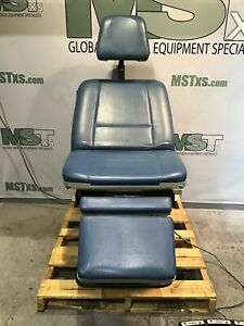 Midmark 75 Anniversary Edition 419 Power Exam Chair W footswitch Medical