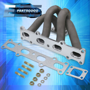 For 94 05 Mazda Miata Mx 5 1 8l T2 T25 T28 Ceramic Coated Exhaust Turbo Manifold
