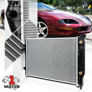 Aluminum Radiator Oe Replacement For 93 02 Chevy Camaro firebird At mt Dpi 1485