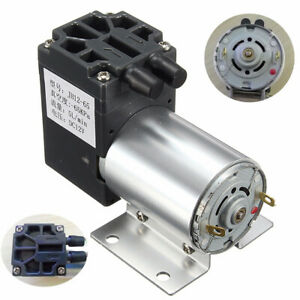 12v Mini Vacuum Pump Negative Pressure Suction Pump 5l min 120kpa With Holder Su