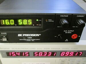 Bk Precision 1900 Adjustable Lab Power Supply 1v To 16v 60a 960w Load Tested
