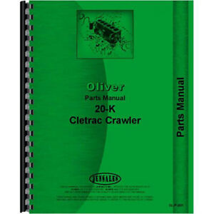Oliver 20k Tractor Parts Manual