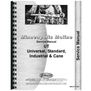 Minneapolis Moline U Tractor Service Manual