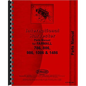 New Chassis Only Parts Manual For International Harvester 986 Tractor