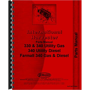 Chassis Parts Manual For International Harvester 4421 Tractor