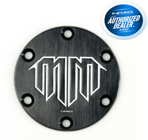 Nrg Aluminum Steering Wheel Horn Button Delete Plate With Madmike Signature Logo