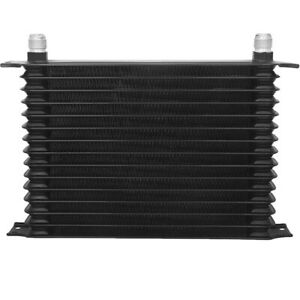 15 Row Universal High Performance Transmission Oil Cooler Heavy Duty Towing Kit