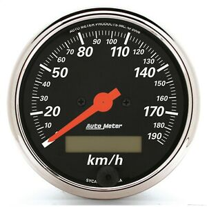Autometer 1487 m Designer Black Electric Programmable Speedometer
