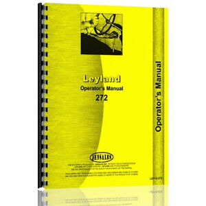 Operator Manual For Leyland Tractor ley o 272
