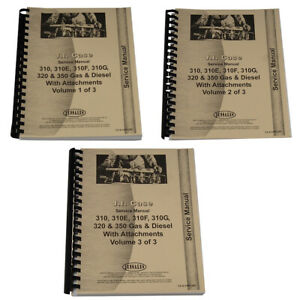 Crawler Service Manual For Ca s 310g 350 Fits Case 310f