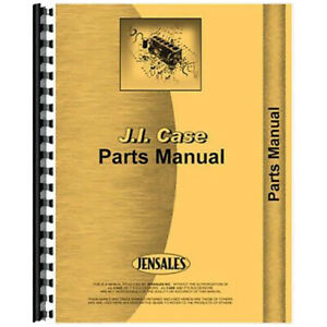 Parts Manual For Case 530 Tractor sn 8262800 8297800 gas And Diesel