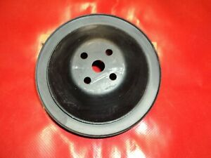 Corvette 1962 1963 1964 1965 1966 1967 1968 Water Pump Pulley 2 Groove Hi Horse