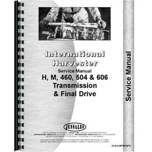 Service Manual For Farmall 606 Tractor