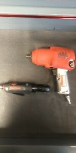 Mac Tools 1 2 Air Impact Wrench And 1 4 Air Ratchet