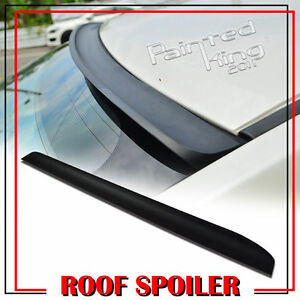 Unpainted 09 13 Fit For Kia Forte Koup 2dr Sx K Style Rear Roof Lip Spoiler Wing