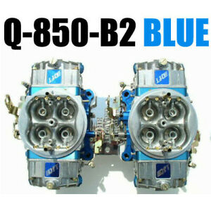 Quick Fuel Q 850 b2 850 Cfm Supercharger Blower Blue Custom Carbs Free Lines
