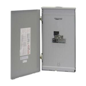 Transfer Panel 200 amp Outdoor Manual Load Center W built in 60a Transfer Switch