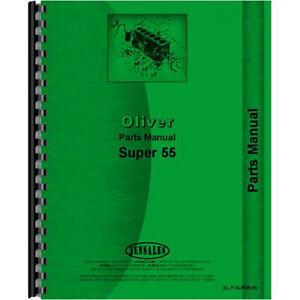 Tractor Parts Manual For Oliver Super 55