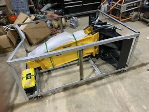 Suihe 750 Skid Steer Hydraulic Hammer Concrete Breaker 2 Bits Hoses And Couplers