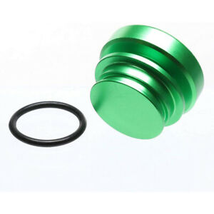 Kei Project Billet Green Aluminum Cigarette Lighter Plug Universal Fitment