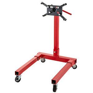 Engine Stand 1250lbs Capacity Motor Stand Rotating Automotive Tools In Steel