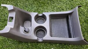 2002 2005 Ford Explorer Mountaineer Center Console Cup Holder Gray Oem