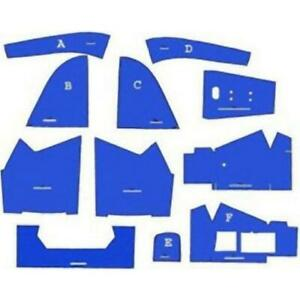 Cf5600 Blue Cab Foam Kit W o Headliner For Ford New Holland 5600 6600 7600