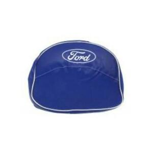 9n401b Blue Seat Cushion Cover With Logo For Ford New Holland Tractor N Series