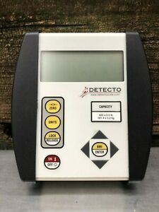 Detecto Cardinal 750 Scale Indicator Bmi 500lb Max Includes Power Supply Manual