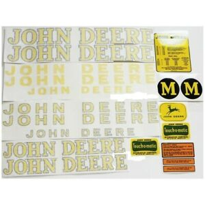 New Complete Decal Kit Made For John Deere Tractor M