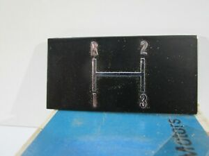 Nos 1968 Chevelle Floor Console Selector Plate 3919910 3 Speed Gm Rare Part