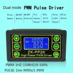 Zk pp2k Pwm Dc Motor Speed Controller Adjustable Switch Pulse Driver 2 Modes