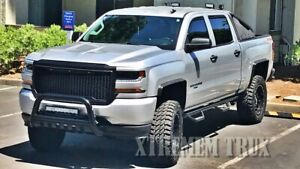 Chevy Silverado 1500 2500 3500 Fender Flares Wheel Molding Trim