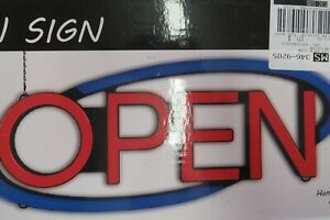 Hanging Retail Led Open Sign 20 75 X 8 4 X 2 Inches
