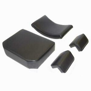 Fits John Deere 440 1010 2010 Dozer Crawler Loader Seat Cushion Set Arm Rest 4pc