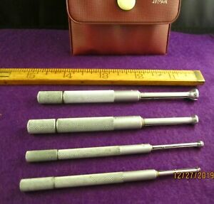 Vintage Precision Machinist Tools Mitutoyo Small Holes Gages