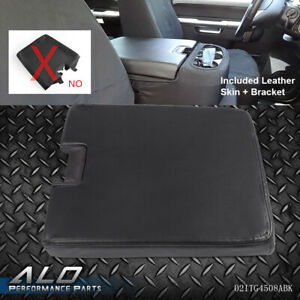 Black For Chevy Silverado Gmc Sierra Center Console Lid Bench 924 810 20864154