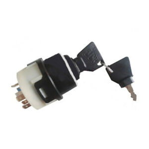 Ignition Switch W 2 Keys For Jcb Case New Holland Nh 701 80184 50988 85804674