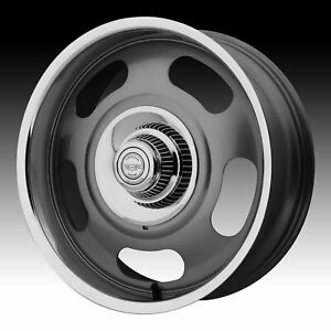 American Racing Vintage Vn506 Rally Gray 20x9 5 6x5 5 0mm vn50629568400