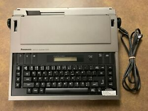 Panasonic Electronictypewriter Kx r200 Daisy Wheel Word Processor Ribbon Ink Lcd