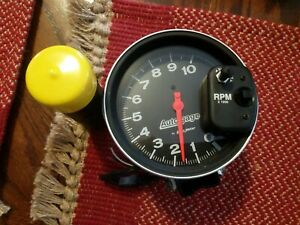 Autogauge By Autometer With Shift Light