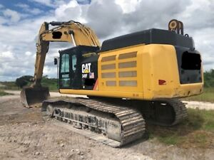 2016 Cat 349fl Excavator Trimble Under Water Gps With 40 Long Reach Boom 30