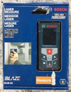 Bosch Glm 42 Blaze 135 Laser Distance Measurer New Free Shipping