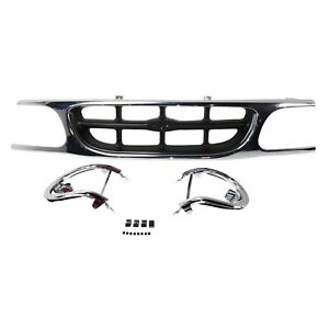 Grille For 95 2001 Ford Explorer Sport Utility Paint To Match Plastic
